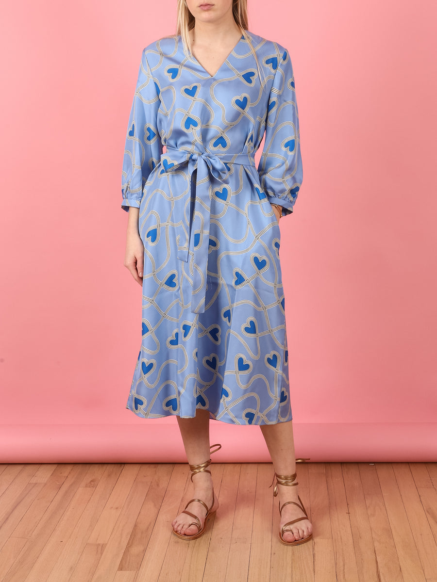 Heart Printed Anni Dress