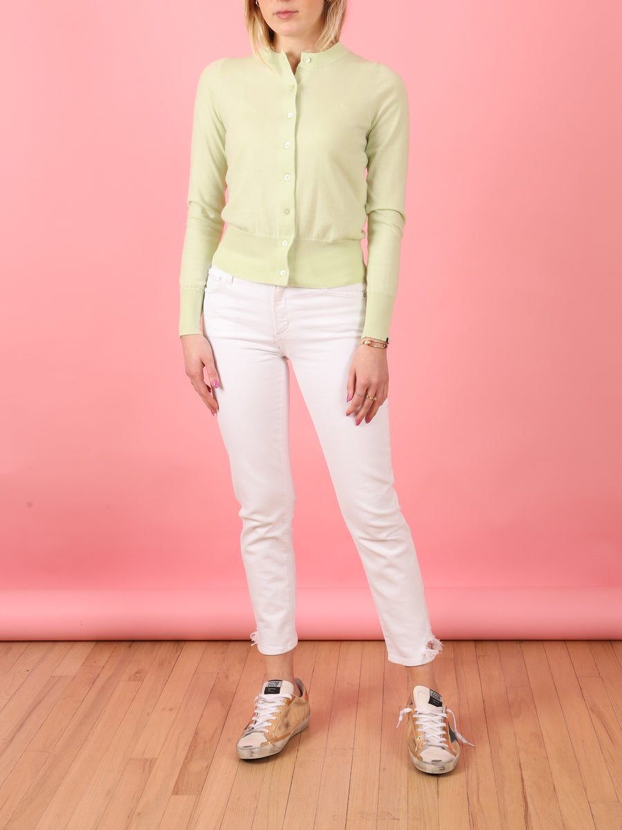 Little Cardi in Lime