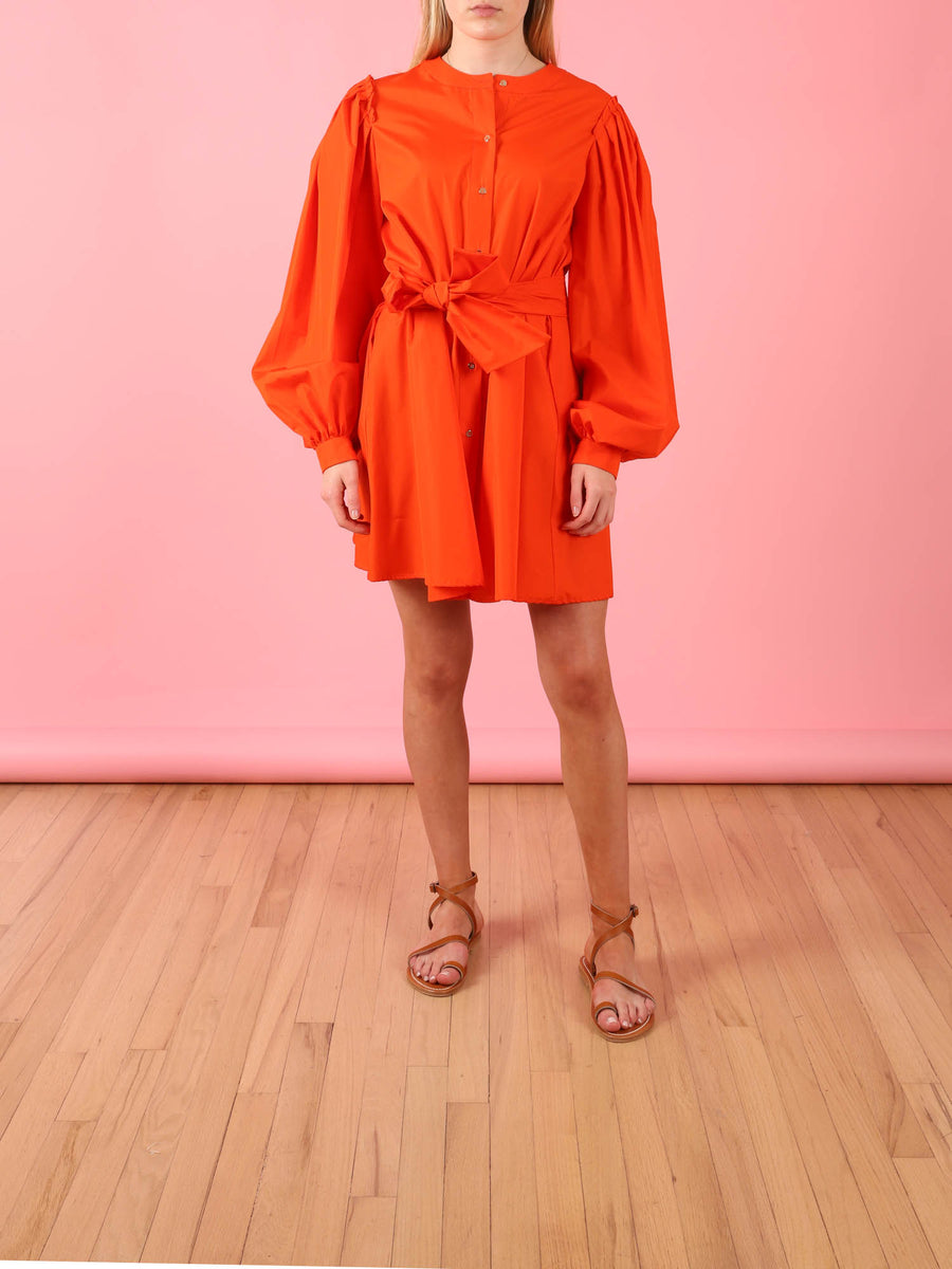 Estelle Dress in Orange