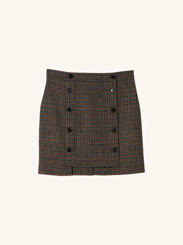 Giza Skirt in Hunter Green