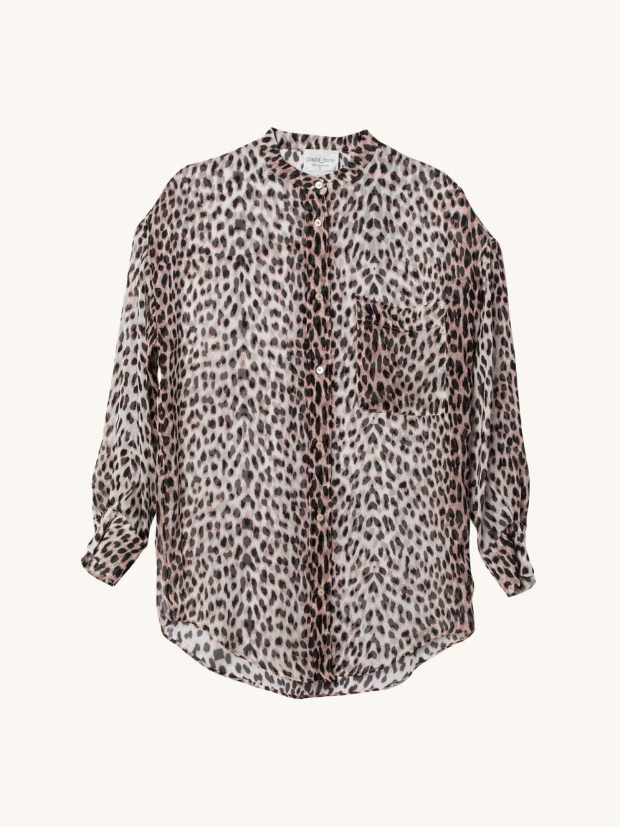 My Shirt in Leopard Print