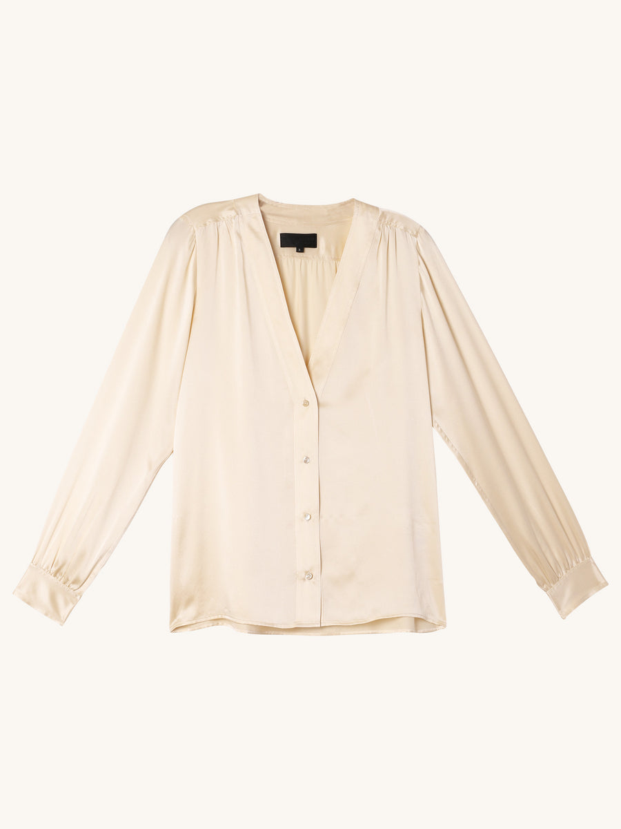 Elsie Shirt in Champagne