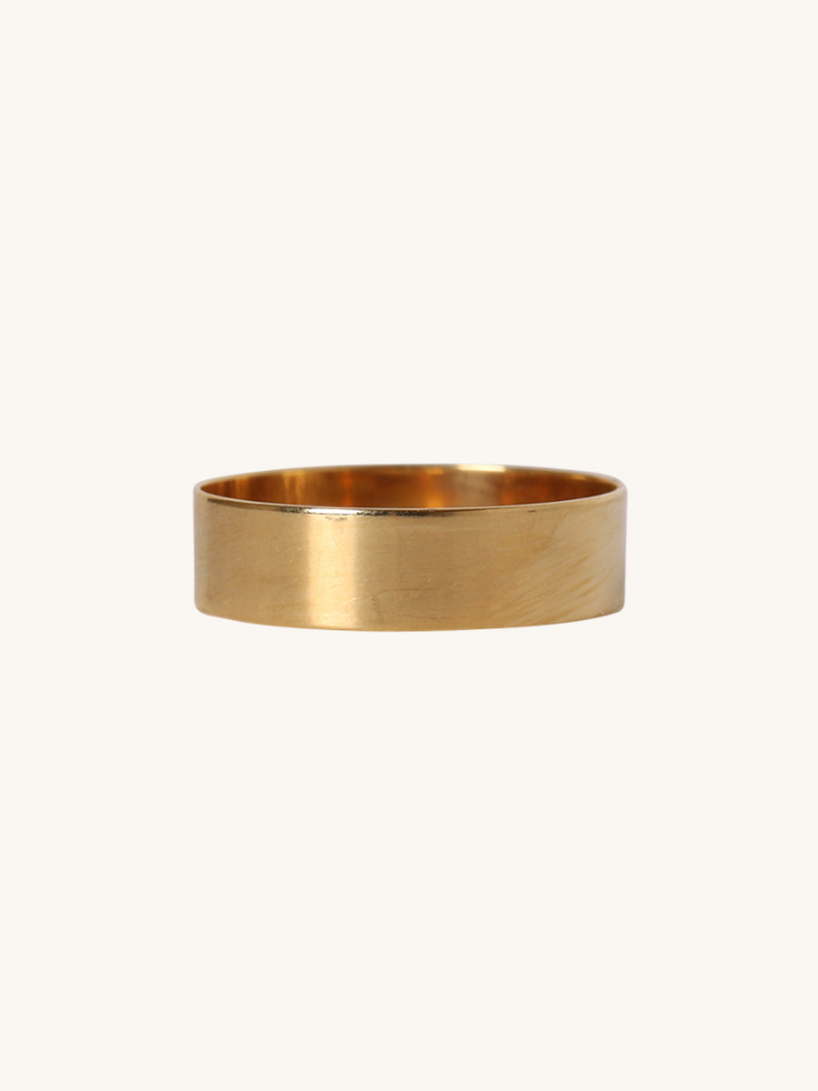 5mm Polished Yellow Gold Band