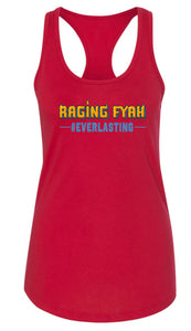 Raging Fyah - Womens Everlasting Tank (Red)