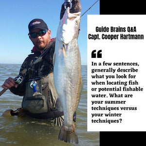 Guide Brains: Q&A With Capt. Cooper Hartmann