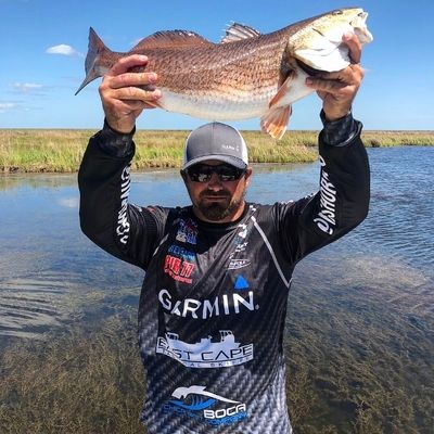 Steve Ward IFA Redfish Series Tournament Angler Florida Pro Staff
