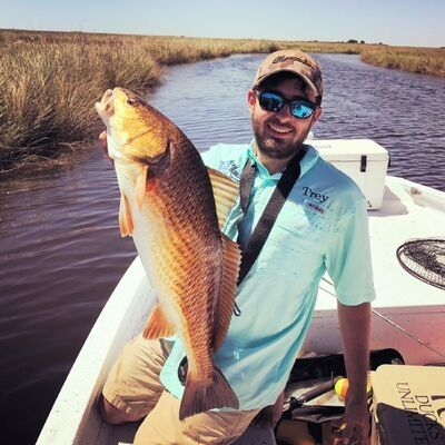 Trey Waller IFA Louisiana Redfish Series Tournament Angler Louisiana Pro Staff