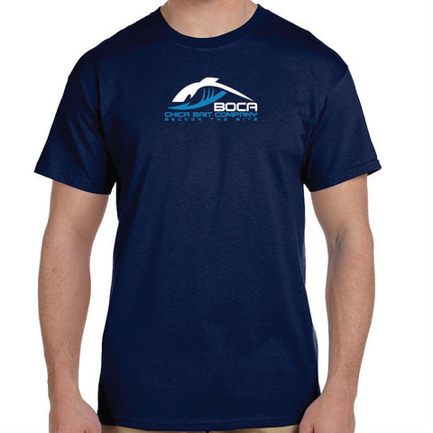 Navy Cotton T