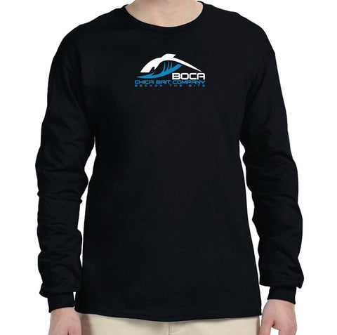 Navy Cotton Long Sleeve