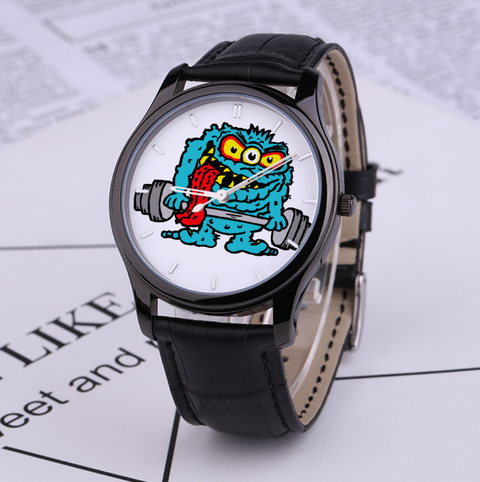 Waterproof Quartz Monster Watch
