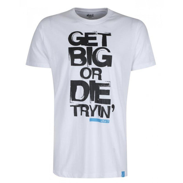 Mens T Shirt - Get Big Or Die Tryin'