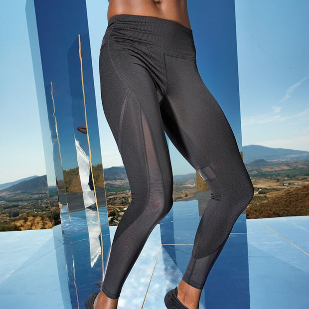 Una Tech Panelled Legging