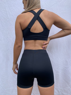Kasandra Crop - Black