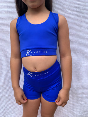 Kasandra Crop YOUTH - Blue