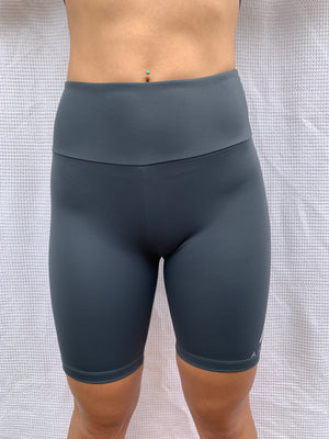Jade Bike Shorts - Titanium Grey