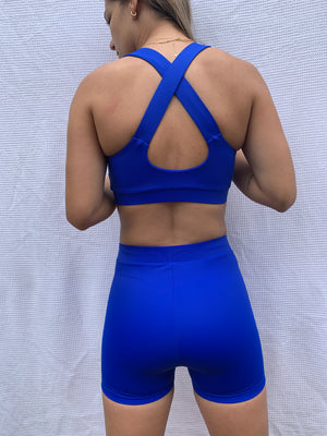 Kasandra Crop - Blue