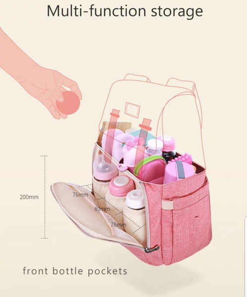 New 2018 Minimalist Style. Diaper Bag Backpack Large Capacity