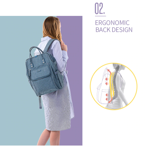 SUNVENO Diaperbag Mom Backpack Luxury Edition. ON SALE