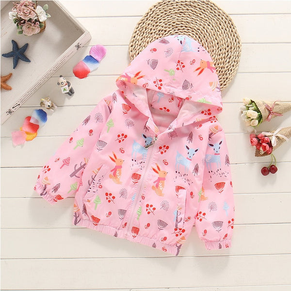 Spring Kids Clothes Windbreaker Trench Coat For Children