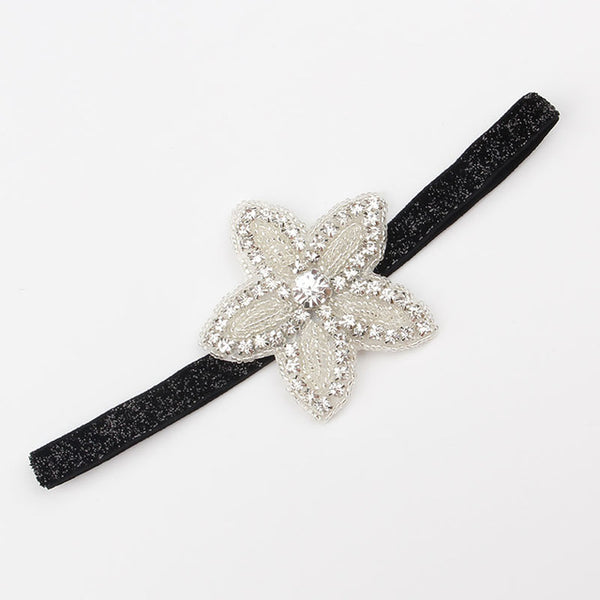 Naturalwell Baby Girls Star Rhinestone  Headbands Kids and Newborn Photo prop