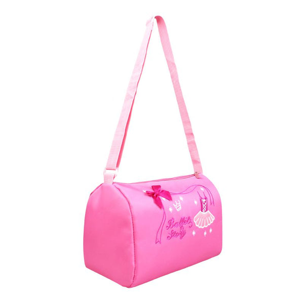 Kids Pink Waterproof Ballet Bags Cute Korean Style Children Sling Crossbody Dance Bag
