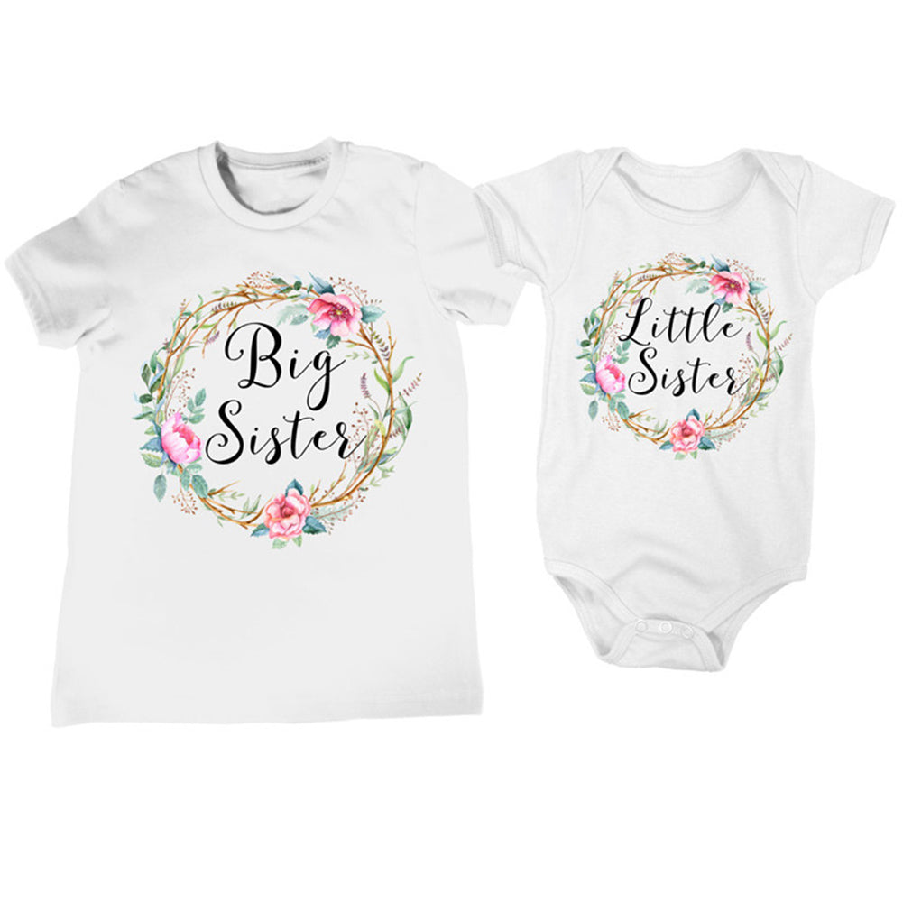 Baby Girl Clothes Little Sister Twins