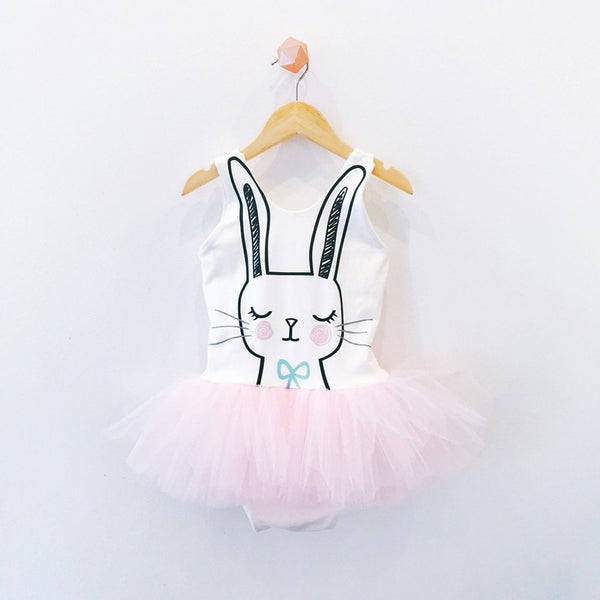 Easter Day Baby Girls  Romper Girls Bunny Tulle Boutique Style