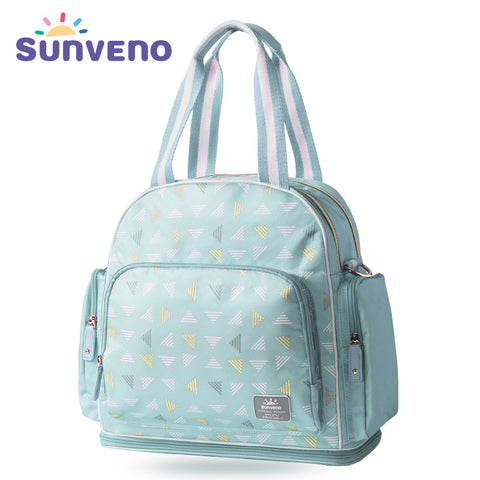 Sunveno Maternity Diaper Bag Large Capacity Travel Backpack