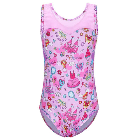 Girls Ballet Leotard Gymnastics Bodysuit