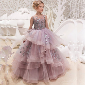 Mia. Tulle  Ball Gowns Elegant Girls Princess Dress