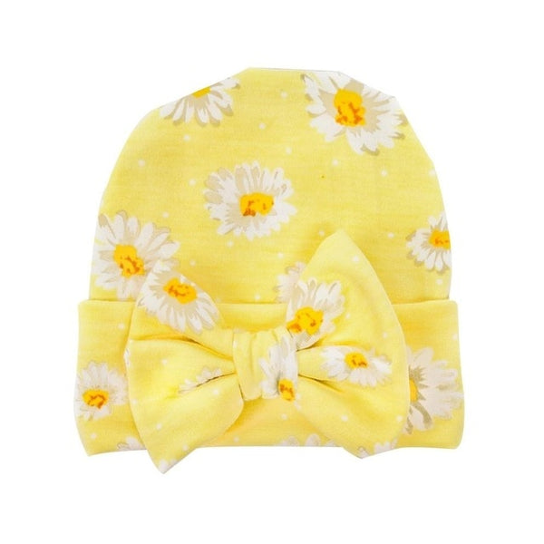 Baby Girls Bowknot baby  hat Soft Cotton Turban Style