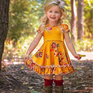 Valery Floral Girl Sundress