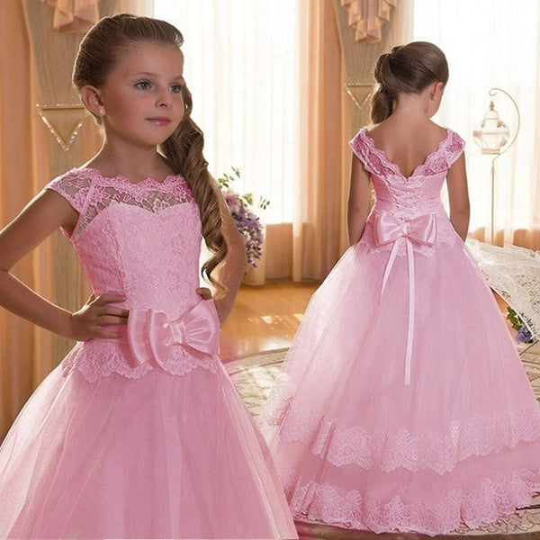Victoria.  Party Dress  For Girls Wedding.