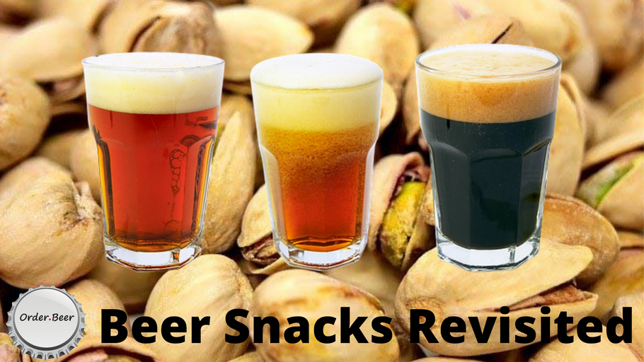 Beer Snacks Revisited - More to offer than just a pickled Egg!