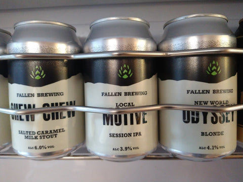 Fallen Brewing Cans