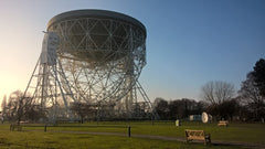 Jodrell Bank Telescope, part of the UK MERLIN Telescope Network