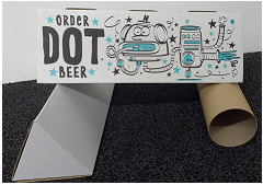 Order.Beer gift tube design stages