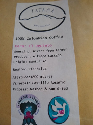 Tatama Coffee Product Details