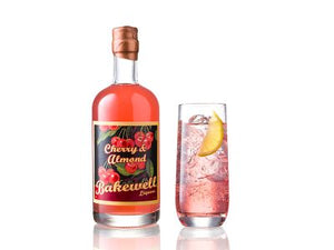 Cherry and Almond Gin Liqueur (Cheshire Gin Company) - homage to the Bakewell Tart