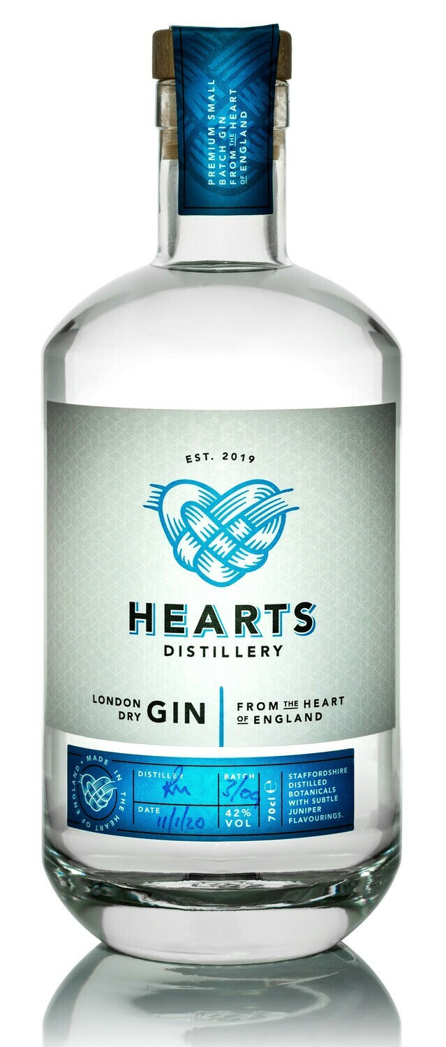 Hearts Distillery London Dry Gin