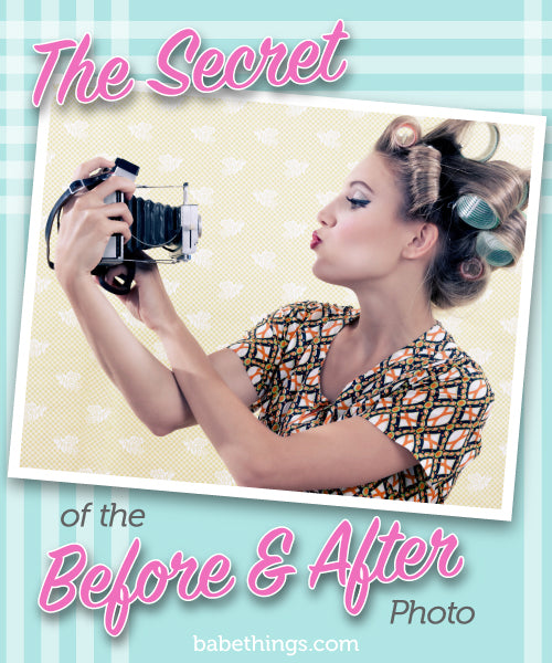 The Secret of the Before & After Photo