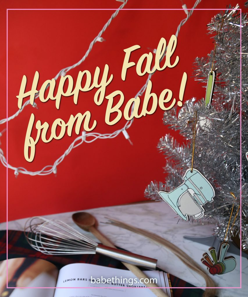 Happy Fall from Babe!