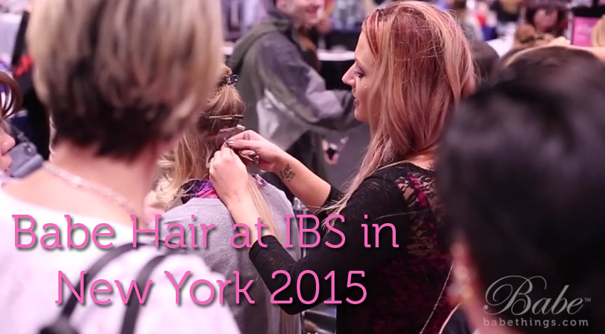 Babe Hair at International Beauty Show in New York 2015