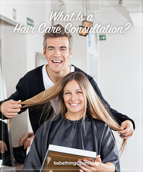 What Is a Hair Care Consultation?