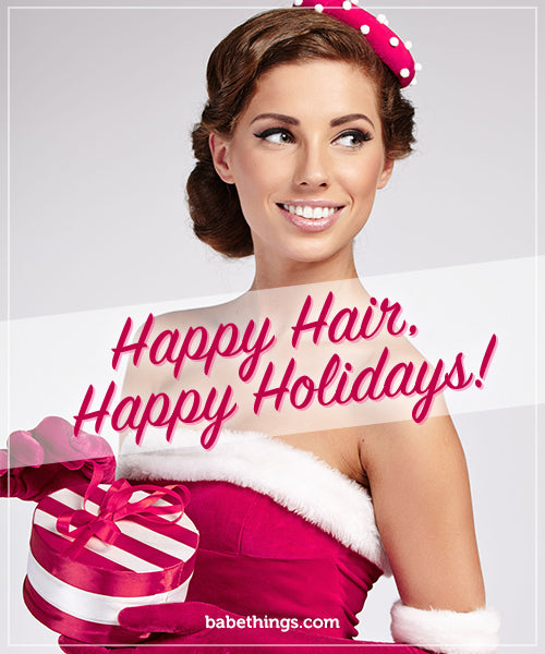 Happy Hair, Happy Holidays!
