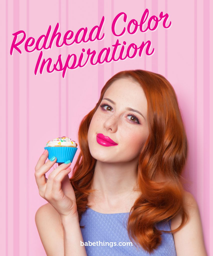Redhead Color Inspiration Hair Extensions Gossip