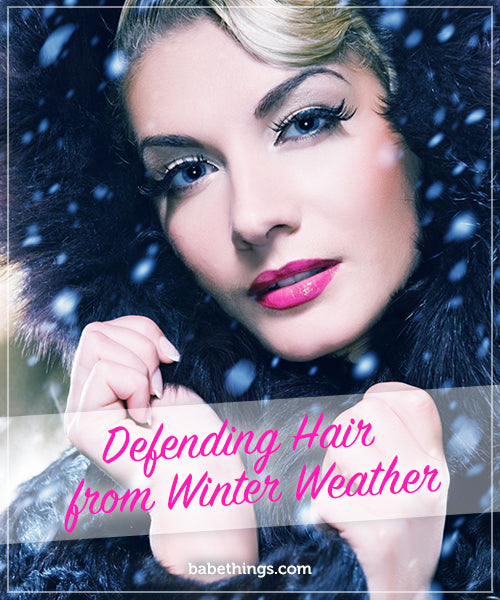 Defending Hair from Winter Weather