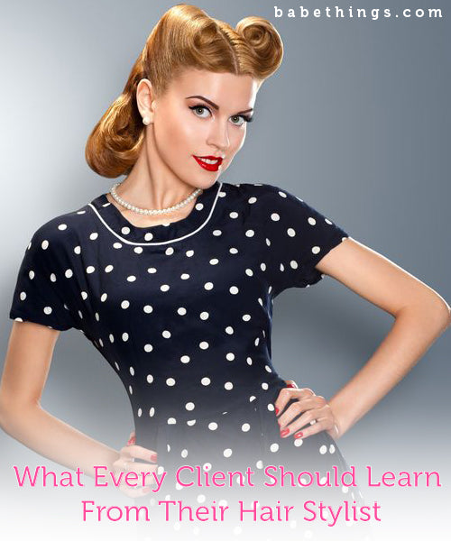 What Every Client Should Learn from their Hair Stylist