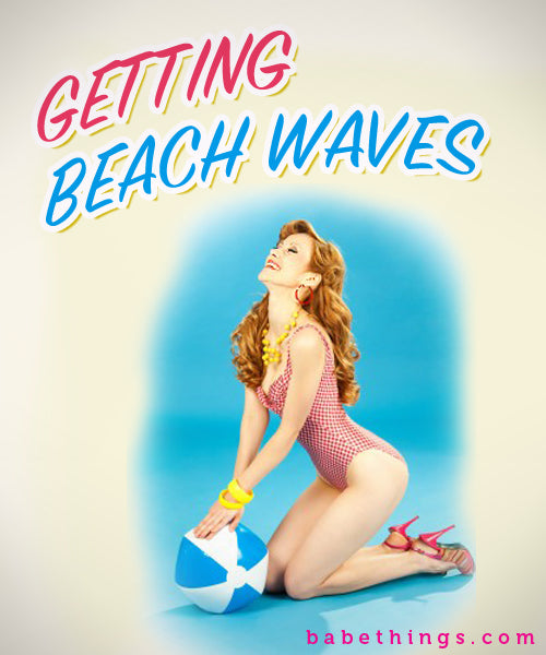 Getting Beach Waves with Hair Extensions
