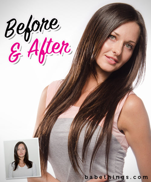 Hair Extension Before and After Tips